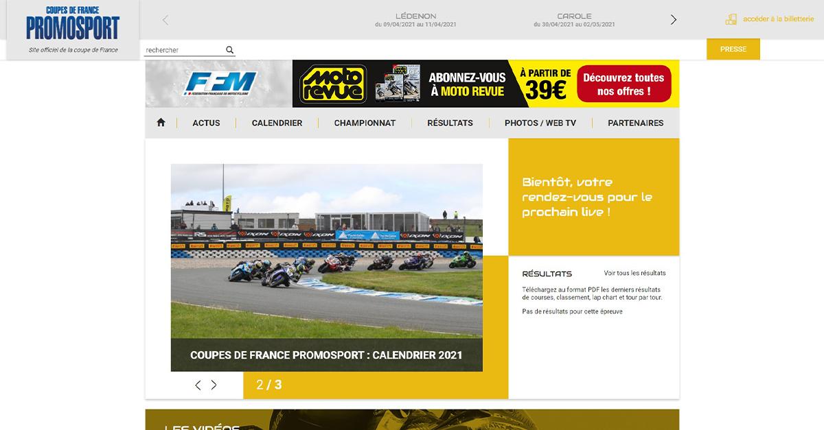 Circuit Carole Calendrier 2022 Calendrier   CDF Promosport